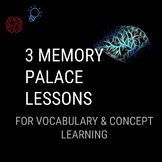 Memory Palace - 3 Lesson Series (Teach Students a Powerful