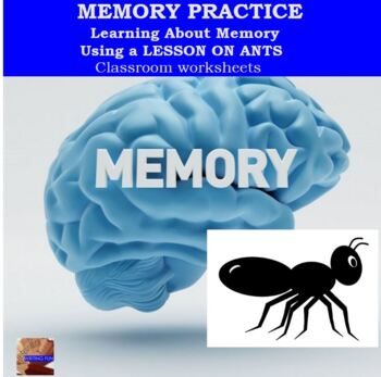 Memory Practice using a lesson on ants
