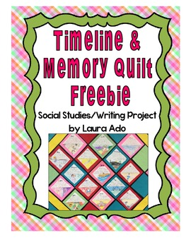 Memory Quilt and Timeline Freebie