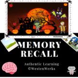 Halloween Memory Recall Game Like STARE