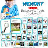 Memory: Scientific Tools Kindergarten-Second Grade