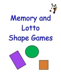 Memory Shape and Lotto Games