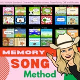 Memory Song Method - 2nd Grade