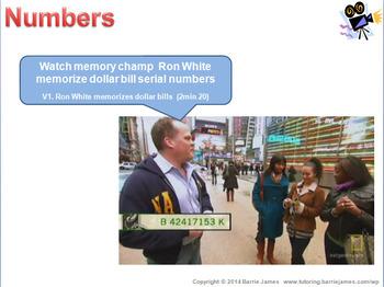 Memory - Strategies 5: Numbers
