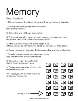 Memory & Topical/Thematic Checkout made for the Library