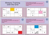 Memory Training with the Grid