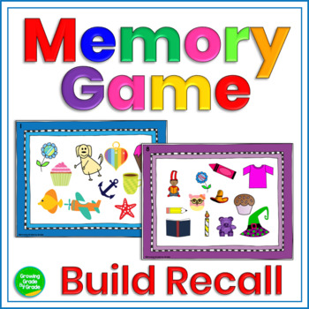 Memory Game Puzzle Trays