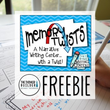 "FREEBIE: Memory Twists {A ""Keep It Fresh! Writing Center""}"