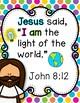 Memory Verse Activities (John 8:12)