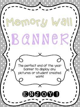 Memory Wall Banner