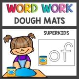 Memory Word Mats and Memory Word Building Mats