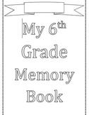 Memory Year Book (editable)