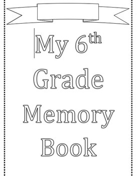 Memory Year Book (editable)