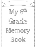 Memory Year Book {editable}