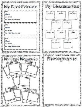 Memory book: 3rd Grade English/Spanish Bundle