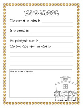 Memory book 4th grade
