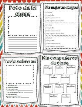 Memory book in Spanish for fifth grade: Libro de recuerdos