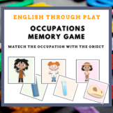 Memory game - occupations - great for ESL classes