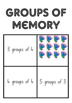 Memory groups of