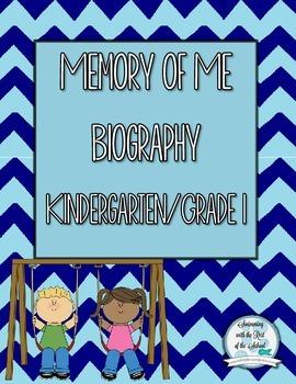 Memory of Me - Kindergarten/ Grade 1