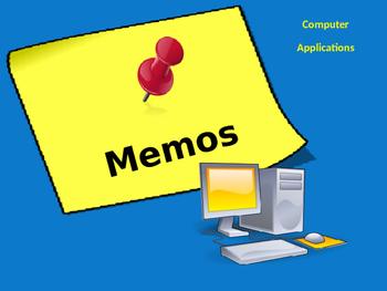 Memos - PowerPoint presentation