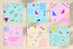 Memphis Digital Paper, 80's 90's Memphis Patterns