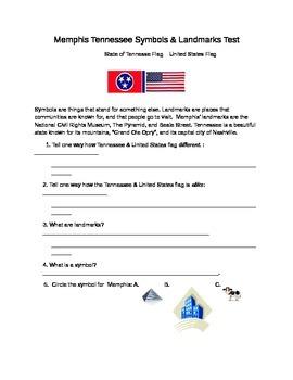 Memphis Tennessee Symbols and Landmarks