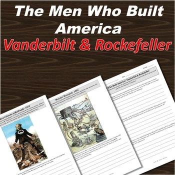 Men Who Built America, Part One, Vanderbilt & Rockefeller