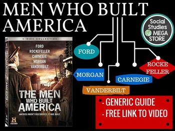 Men Who Built America Generic Guide