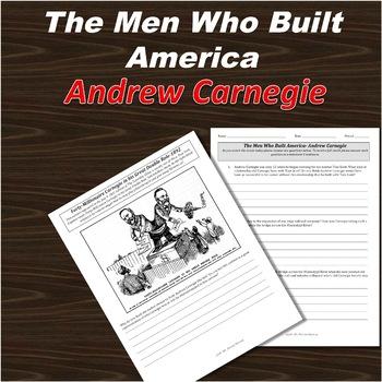 Men Who Built America, Part Two, Andrew Carnegie