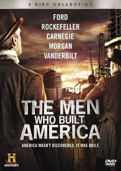 Men Who Built America Worksheets Entire Series: EDITABLE AND EXAMVIEW VERSION