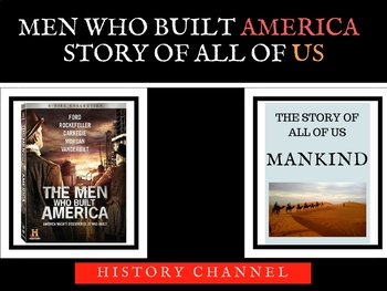 Men Who Built America -Mankind the Story of All of US Bundle - History Channel
