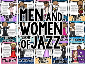 Men and Women of Jazz Bulletin Board