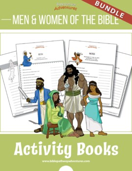 BUNDLE: Men and Women of the Bible Quiz Activity Books