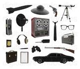Men in Black Clip Art - Special Agent G Men Digital Graphics