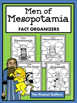 Men of Mesopotamia (Fact Organizers)