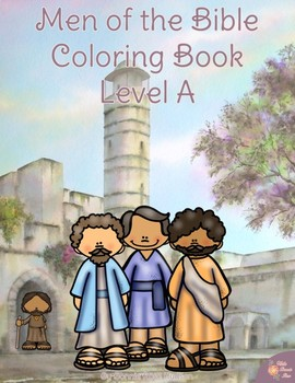 Men of the Bible Coloring Book-Level A