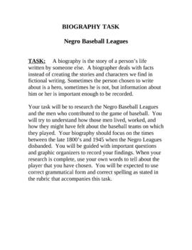 Men the Majors Missed – Writing Biographies of Negro Baseball