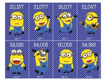 Menacing Minions Place Value by Marvel Math