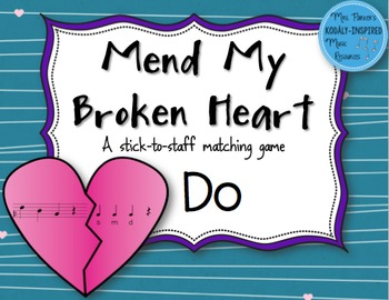 Mend My Broken Heart Melody Game: Do
