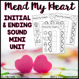 Mend My Heart: Beginning & Ending Sound Practice with CVC Words