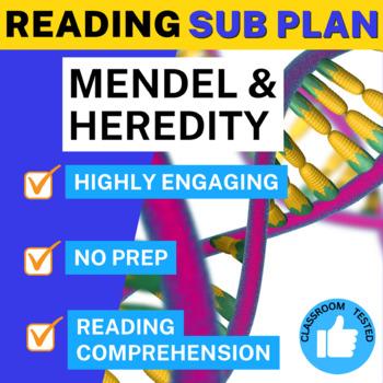 Science Literacy Mendel Heredity Sub Plan