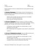 Mendel's Laws Vocabulary Practice