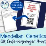 Mendelian Genetics QR Code Scavenger Hunt-Monohybrid and D