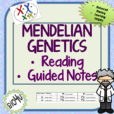 Mendelian Genetics Reading and Guided Notes