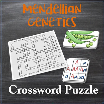 Mendellian Genetics Crossword Puzzle
