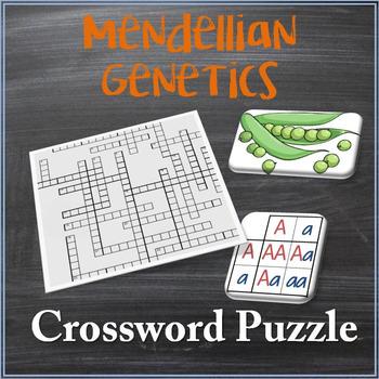Mendellian Genetics Crossword Puzzle