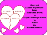 Convert Linear Equations: Standard, Point-Slope, and Slope
