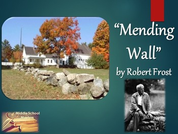 Mending Wall by Robert Frost 5-Day Lesson/Unit Plan (Commo