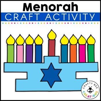 Menorah Cut and Paste
